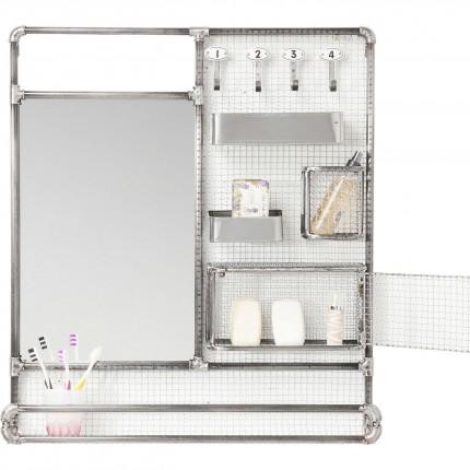 Miroir Buster Organizer Kare Design