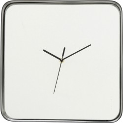 Horloge murale Shadow Soft carrée Kare Design