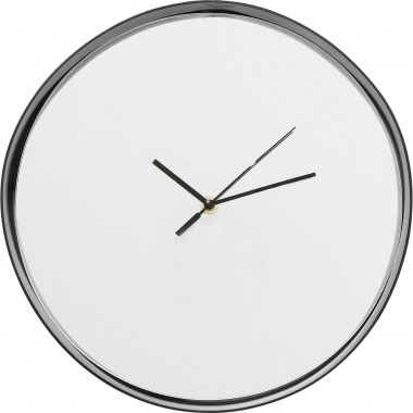 Horloge murale Shadow soft rond Kare Design
