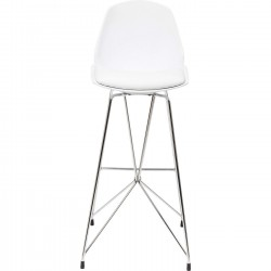 Tabouret de bar Wire blanc