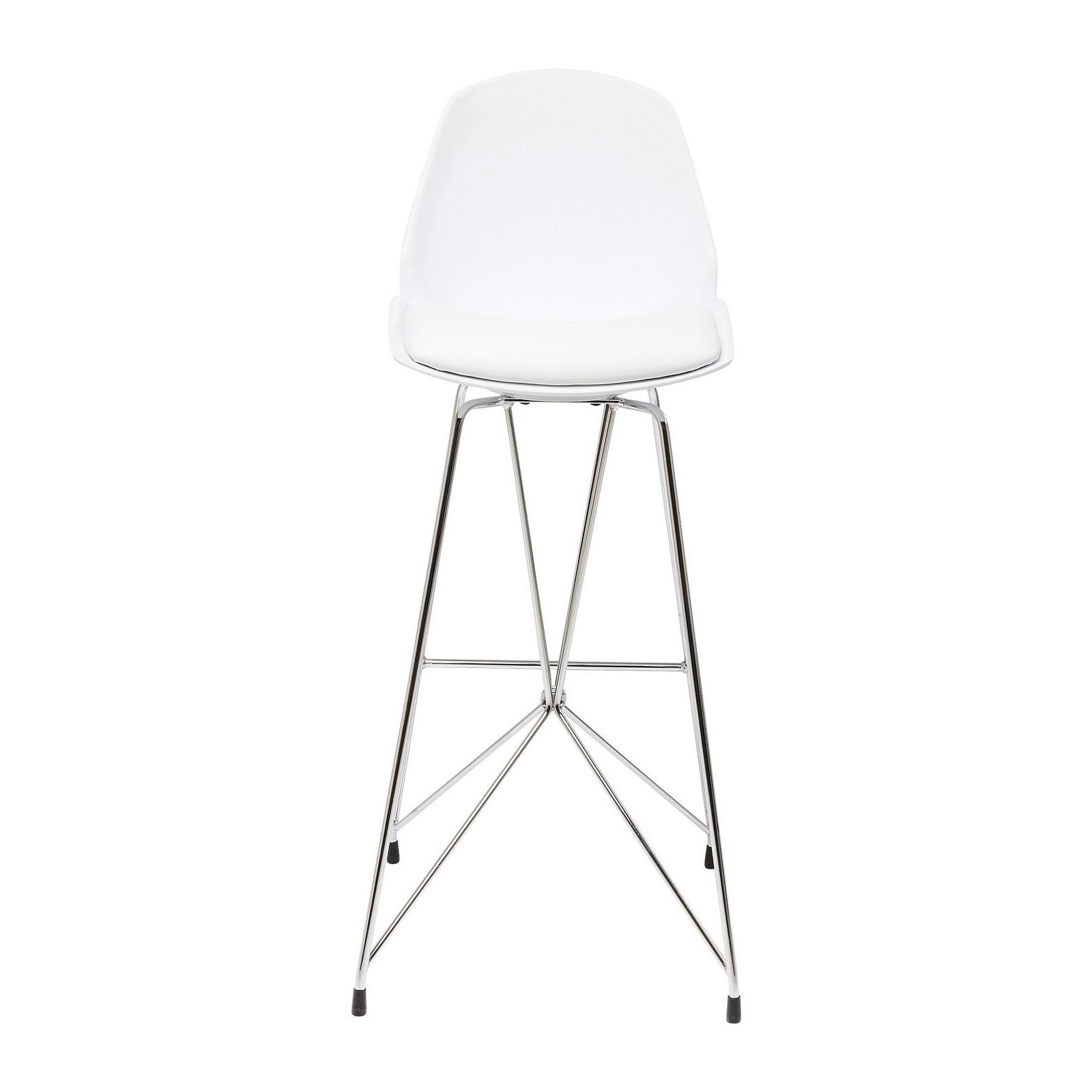 tabouret de bar moderne blanc wire kare design. Black Bedroom Furniture Sets. Home Design Ideas