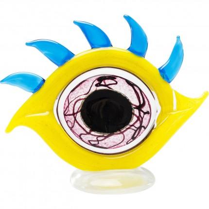 Déco oeil jaune Kare Design