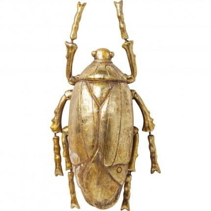 Déco murale Plant Beetle dorée Kare Design