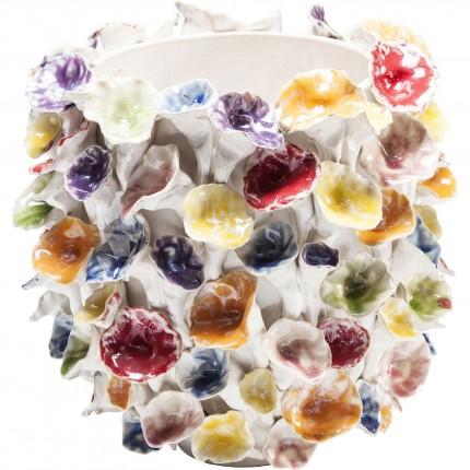 Vase feuilles multicolores 26cm Kare Design