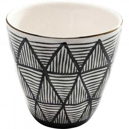 Tasses à expresso Capetown set de 4 Kare Design