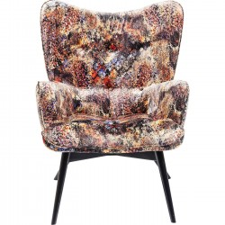 Fauteuil Vicky safari tropical Kare Design