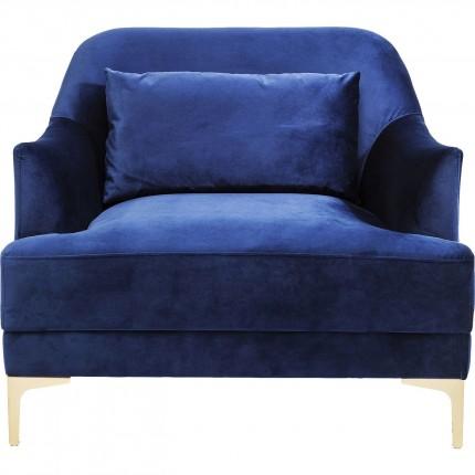 Fauteuil Proud bleu roi Kare Design