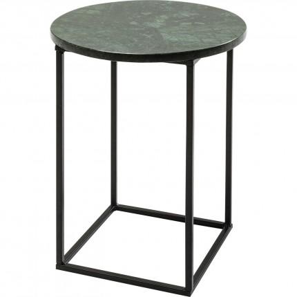 Table d'appoint Fjord verte 30x30cm Kare Design