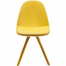 Chaise Candy World moutarde