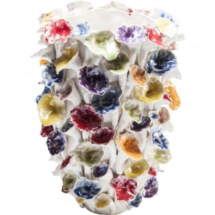 Vase feuilles multicolores 36cm Kare Design