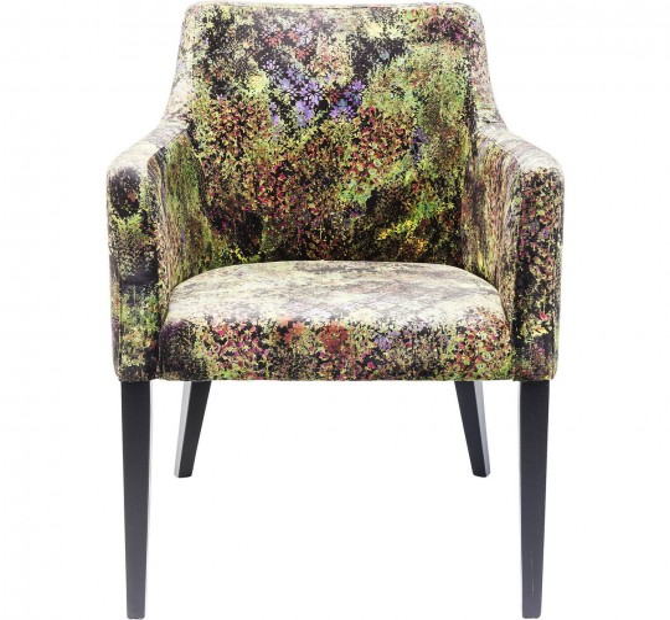 Chaise a.acc Mode jungle vert