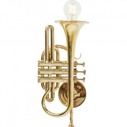 Applique Trompette Jazz dorée Kare Design