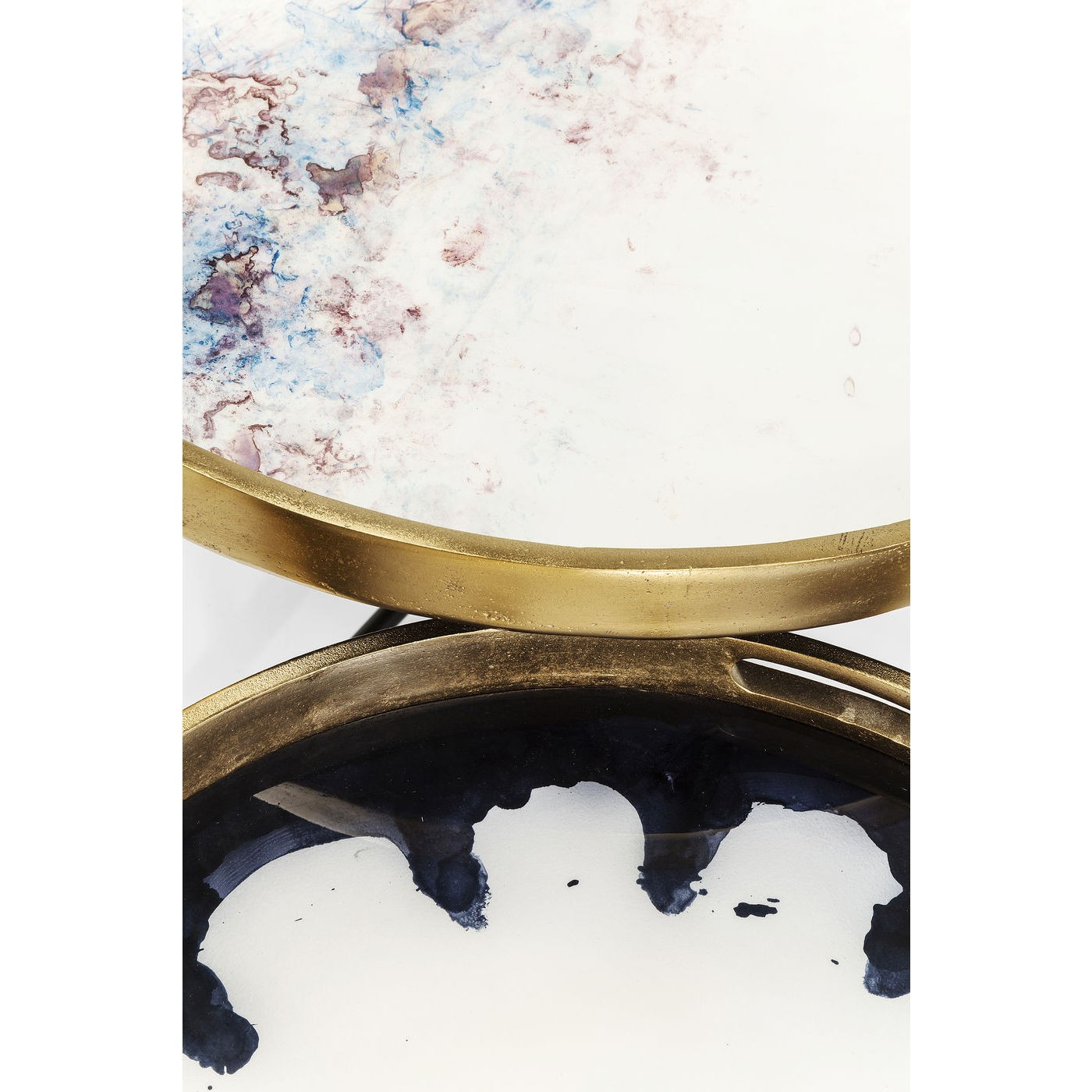 Tables basses Mystic Flower set de 2 Kare Design