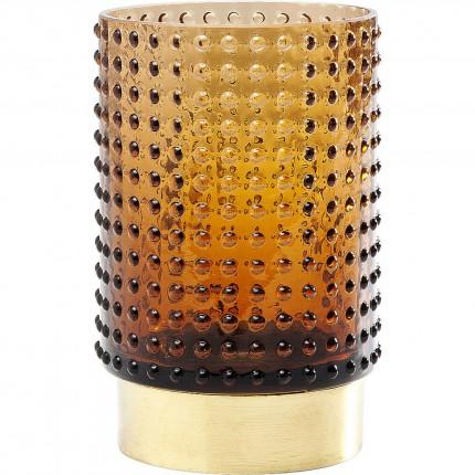 Vase Barfly marron 14cm Kare Design