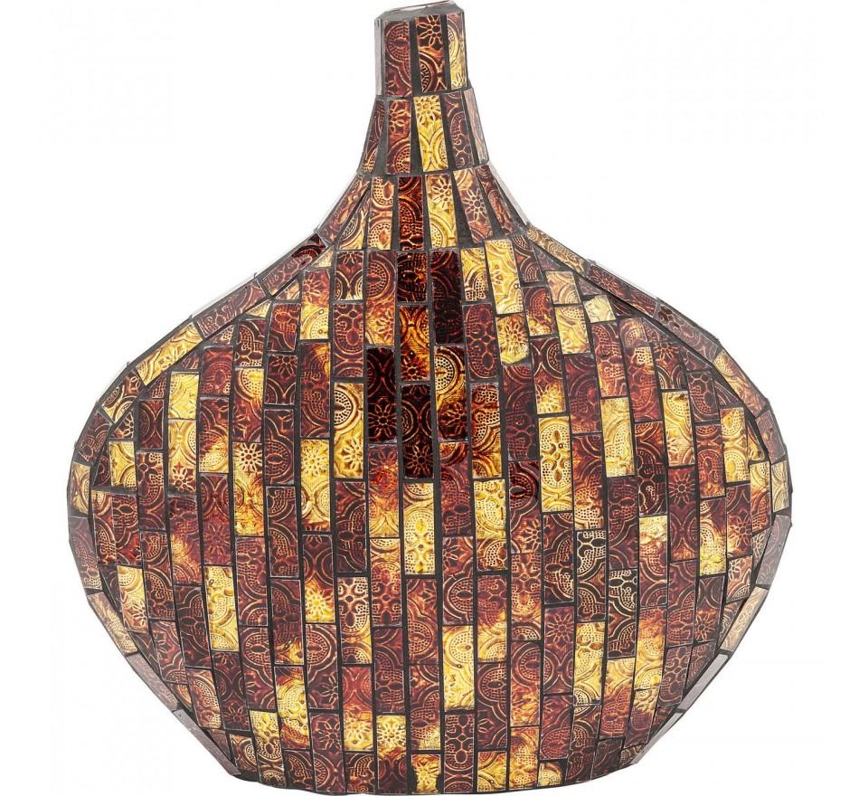 Vase Mosaico maron 33cm