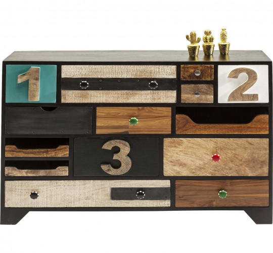 Commode Urban Living 14 tiroirs
