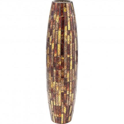 Vase Mosaico marron 59cm Kare Design