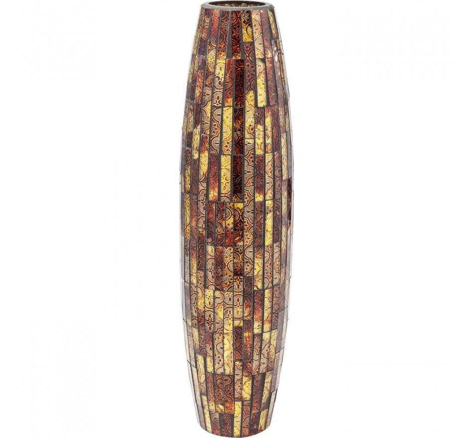 Vase Mosaico maron 59cm