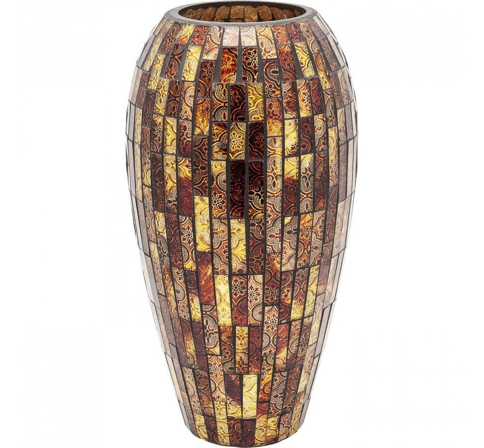 Vase Mosaico maron 40cm