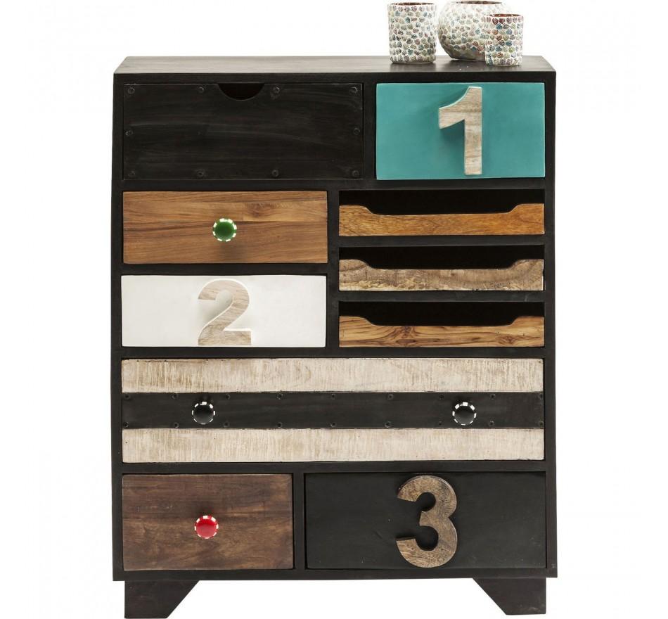 Commode Urban Living 10 tiroirs