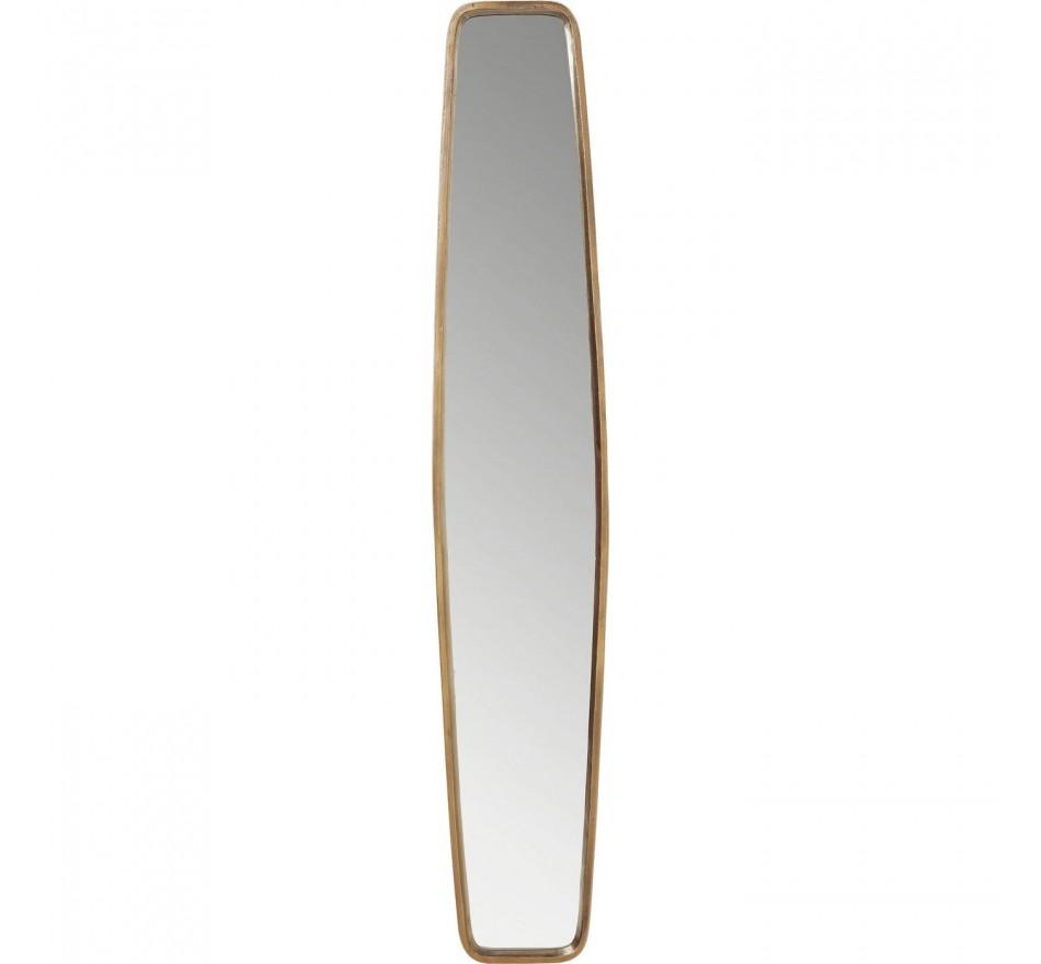 Miroir Clip cuivre 177x32cm