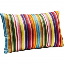 Coussin Stripes multicolore 30x50cm