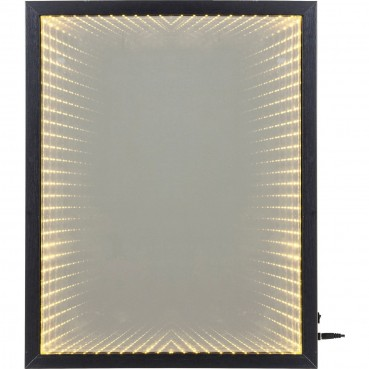 Miroir frame led 48x38cm kare design for Miroir led 50
