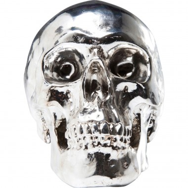 Tirelire Skull chrome Kare Design