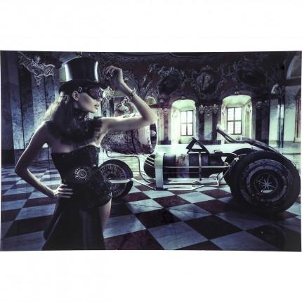 Tableau en verre Circus Queen 100x150cm Kare Design