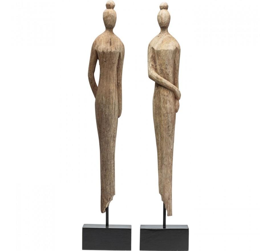 Figurine décorative Madame Nature ass.