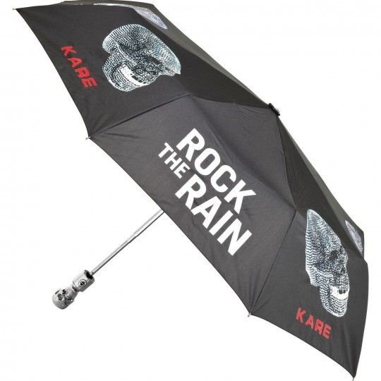 Parapluie pliant Skull Rock the Rain