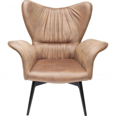 Fauteuil Wall Street Vintage Ornement Kare Design