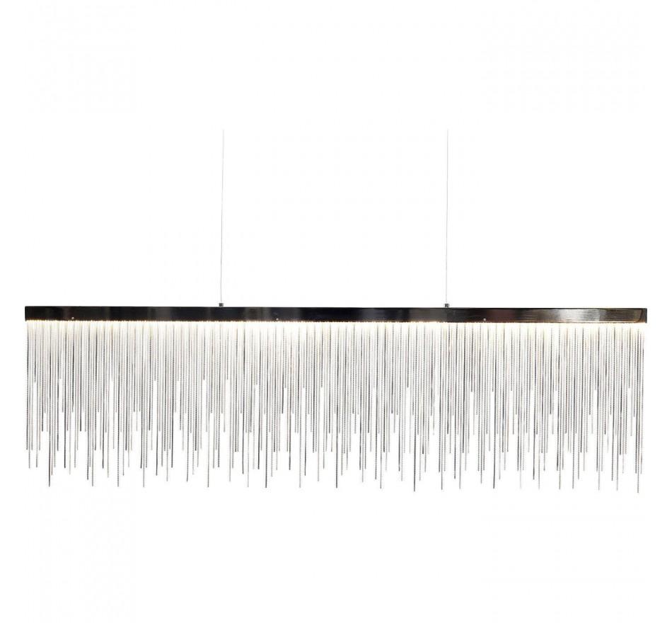 Suspension Vezzo chrome LED