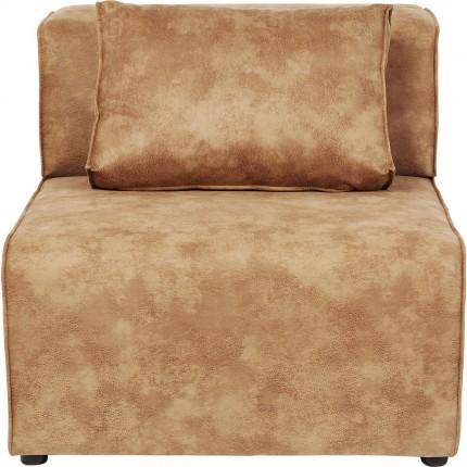 Assise centrale 80cm canapé Infinity cognac Kare Design