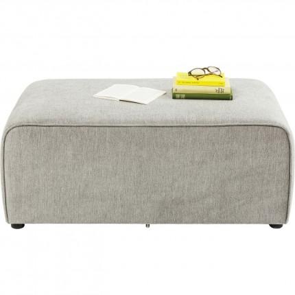 Pouf 50cm canapé Infinity gris Kare Design