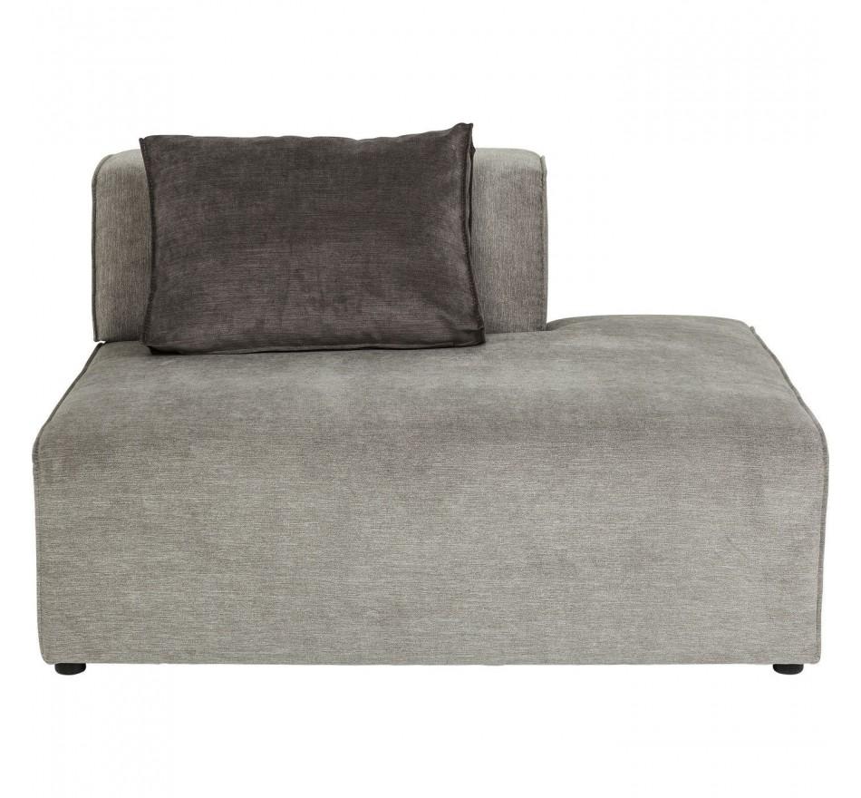 Assise 120x100cm canapé Infinity gris Kare Design
