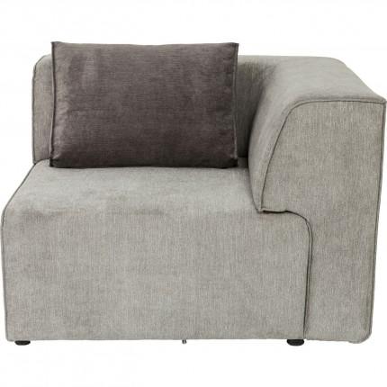 Angle de droite canapé Infinity gris Kare Design