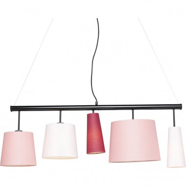 Suspension Parecchi rose 100cm Kare Design
