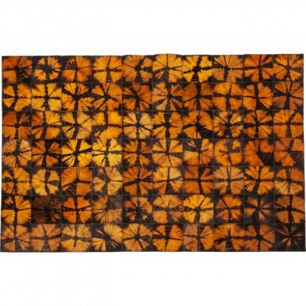 Tapis Batik orange 240x170cm Kare Design