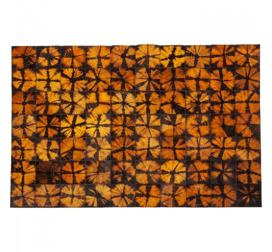 Tapis Batik orange 240x170cm