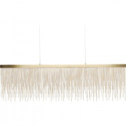 Suspension Vezzo laiton LED Kare Design