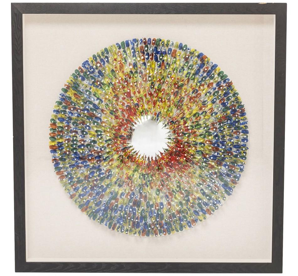 Cadre décoratif Colour Explosion 120x120cm