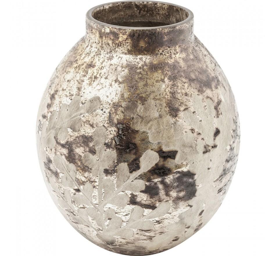 Vase Orient Garden gris 19cm
