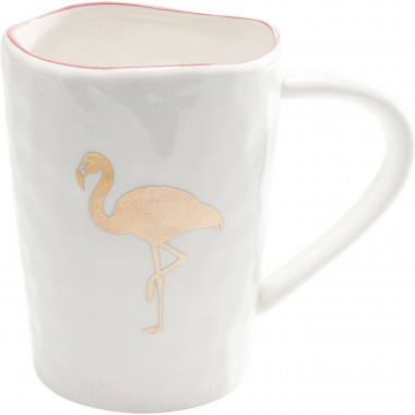 Mugs flamant rose set de 2 Kare Design