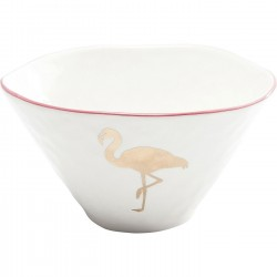 Bols flamant rose set de 2 Kare Design
