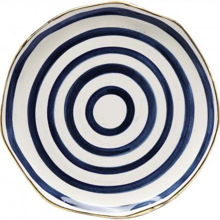 Assiettes Provence spiral 21cm set de 2 Kare Design
