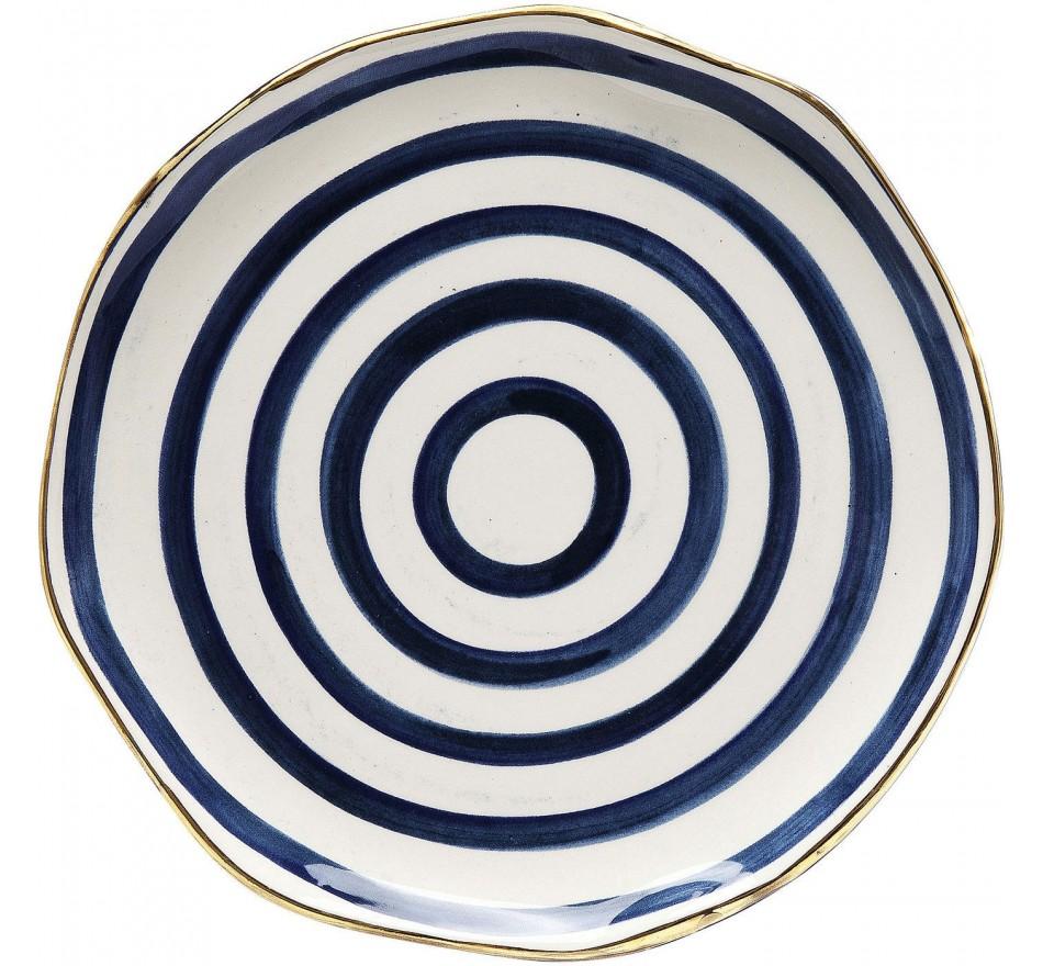 Assiette Provence spiral Ø21cm