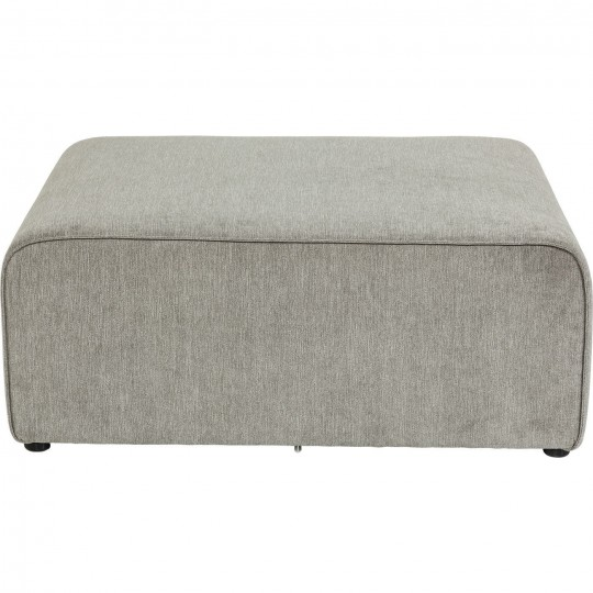 pouf contemporain gris infinity kare design. Black Bedroom Furniture Sets. Home Design Ideas
