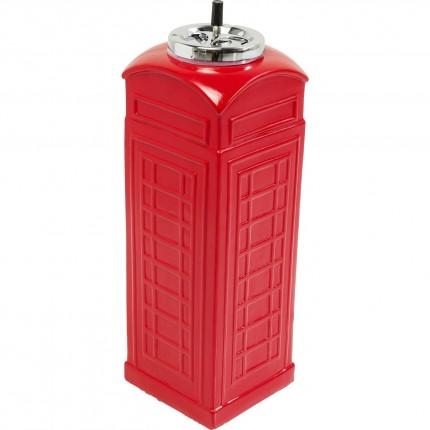 Cendrier sur pied London Telephone 60cm Kare Design