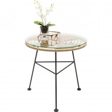 Table d appoint Farfalla nature Ø45cm